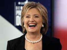 Hillary Clinton has a high profile fight song