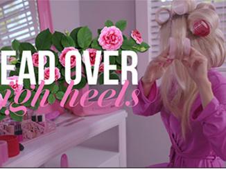 Dolly Parton head over heels and Cosmopolitan