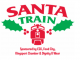 Country Star jumping on the Santa Train