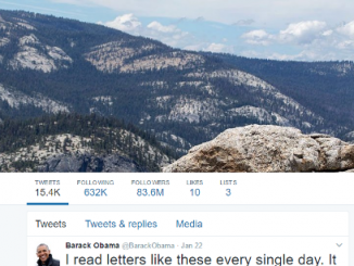 Everything about Barack Obama is bigger than Trump especially Twitter accounts