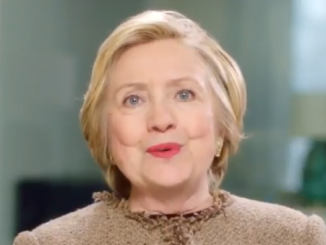 Hillary Clinton is back with another message to women