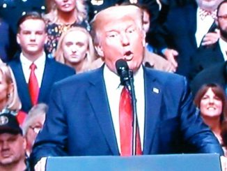 Donald Trump has major fit in front of 8000 supporters and protesters in Nashville TN