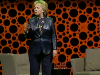 Hillary Clinton is Back in Black Leather and ready to defend the rights of women across our nation