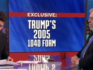 Did Donald Trump leak his own 2005 tax returns as well as strange Melania photos