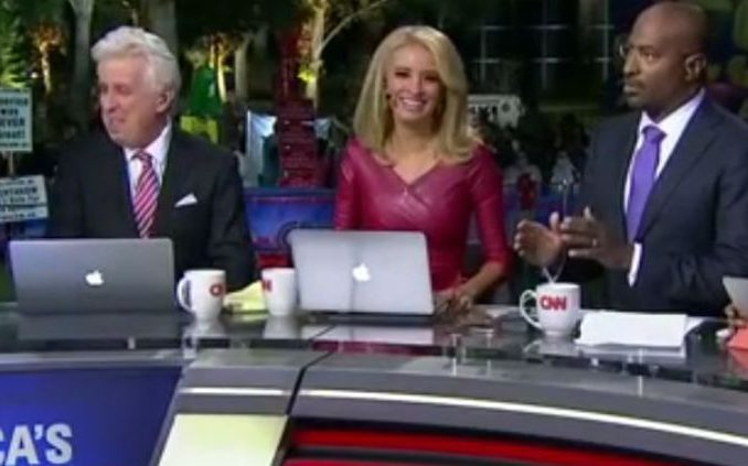 CNN dumps Kayleigh McEnany and Jeffrey Lord who were two of Donald Trumps biggest supporters making disgusted viewers happy