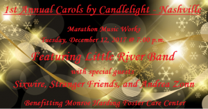 Little River Band and friends present Christmas Concert benefiting Monroe Harding Foster Care Center