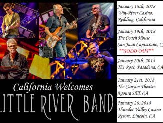 Little River Band California tour dates kicking off in Redding mid January